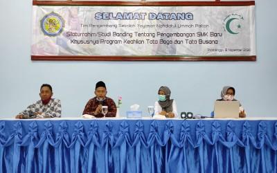 Studi Banding Tim Pengembang Sekolah Yayasan Nahdlatul Ummah Paiton