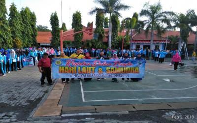 Peringatan Hari Laut dan Samudera 2018 Adiwiyata SMK Negeri 3 Probolinggo
