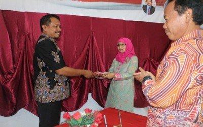 SERTIJAB Kepala SMK Negeri 3 Probolinggo dan SMK Negeri 4 Probolinggo